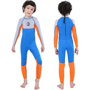 MORGEN SKY ウェットスーツ 子供 水着 2.5mm キッズ フルスーツ 男の子 女の子 ス...