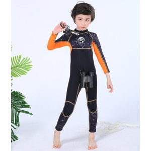 MORGEN SKY ウェットスーツ 子供 水着 2.5mm キッズ 男の子 女の子 スイムウェア ...