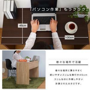 デスク パソコンデスク 学習デスク 机 オフィスデスク おしゃれ 平机 シンプル 木製|futureoffice|02