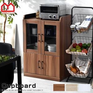 食器棚 レンジ台 一人暮らし 60幅 キッチン収納 おしゃれ スリム ミニ レンジ台 白の写真