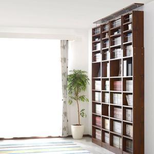 本棚 書棚 コミック スリム おしゃれ 大容量 薄型 突っ張り 幅45cm 本棚|futureoffice|14