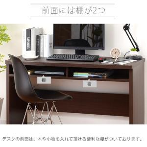 デスク パソコンデスク 木製 幅120cm 机 ハイデスク おしゃれ 学習机 パソコンデスク|futureoffice|04