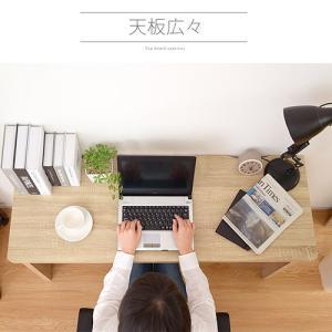 デスク パソコンデスク 木製 幅120cm 机 ハイデスク おしゃれ 学習机 パソコンデスク|futureoffice|09