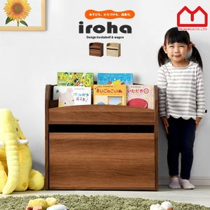 ■商品名 表紙が見える 絵本棚 おもちゃ箱 いろは ■取扱タイプ オーク、ウォールナット ■商品仕様...