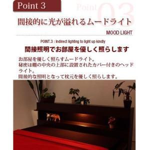 ベッド ベット ダブル マットレス付き|futureoffice|03