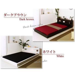 ベッド ベット ダブル マットレス付き|futureoffice|05