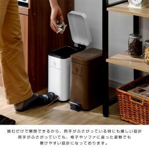 ゴミ箱 ごみ箱 ダストボックス ごみばこ フタ付き ペダル式 ふた付き futureoffice 07