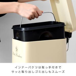 ゴミ箱 ごみ箱 ダストボックス ごみばこ フタ付き ペダル式 ふた付き futureoffice 08