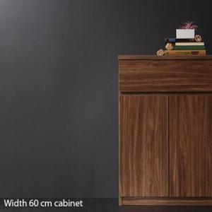 キャビネット チェスト 木製 幅60 引き出し リビング タンス たんす 薄型 スリム 衣類 収納 キッチン 収納棚 棚 サイドボード サニタリー ランドリー 本棚 扉付 futureoffice