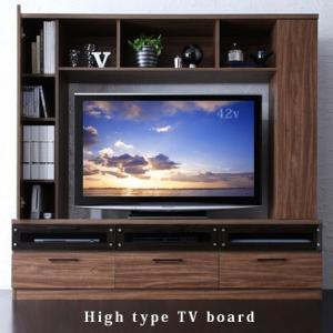 テレビ台 テレビボード ハイタイプ 壁面収納 壁面|futureoffice