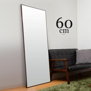 ウォールミラー 幅60cm スリムミラー 薄型ミラー 姿見鏡|futureoffice