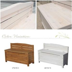 物置 物置き 収納庫付き 天然木製ベンチ 収納 小型 屋外 ガーデニング 幅90cm おしゃれ futureoffice 05