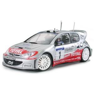 タミヤ 1/24 スポーツカーシリーズ プジョー206 WRC 2002|futureshop
