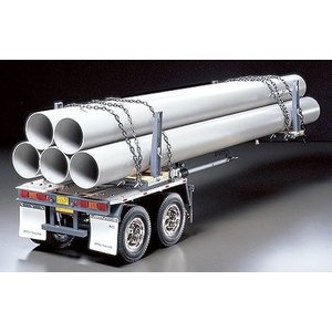 タミヤ 1/14 電動RCビッグトラックシリーズ No.10 トレーラートラック用 ポールトレーラー ラジコン 56310|futureshop