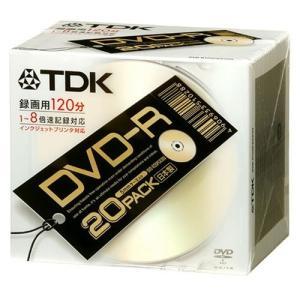 TDK DVD-R録画用 日本製 ゴールドプリンタブル 1-8倍速 20枚パック [DVD-R120PGX20U]|futureshop