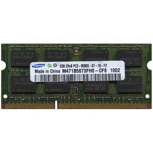 【2GB】Samsung純正 ノートパソコン用DDR3メモリー 1066MHz 204pin SO-DIMM PC3-8500 (M471B5673F|futureshop
