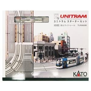 KATO Nゲージ ユニトラムスターターセット 富山ライトレールTLR0600形 40-900 鉄道模型入門セット|futureshop