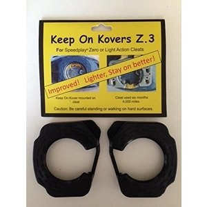 keep on kovers Z.3 スピードプレイ専用 耐久性UP 穴開きクリートカバー ZERO/LIGHT ACTION対応|futureshop