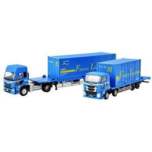 ザ・トラック/トレーラーコレクション 日本フレートライナー コンテナトラック・トレーラーセット ジオラマ用品 (メーカー初回受注限定生産)|futureshop