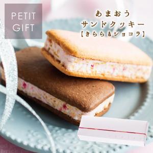 あまおうサンドクッキー2個入 苺きらら ショコラサンドクッキー チョコレート クッキー あまおう苺 プチギフト 博多風美庵 宅急便発送