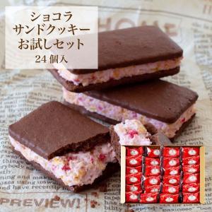 ショコラサンドクッキー 24個入 お試しシリーズ be factory 大容量お試しセット メール便発送 送料無料 mailbin|fuubian