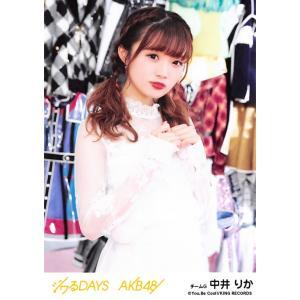 中井りか 生写真 AKB48 ジワるDAYS 劇場盤 選抜Ver.|fuwaneko