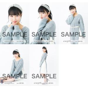 田中美久 生写真 HKT48 2019年03月 vol.1 個別 5種コンプ|fuwaneko