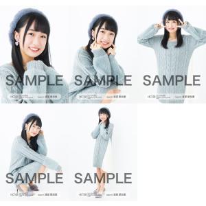 渡部愛加里 生写真 HKT48 2019年03月 vol.1 個別 5種コンプ|fuwaneko