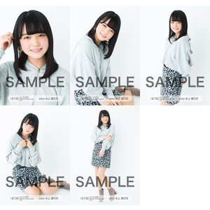 水上凜巳花 生写真 HKT48 2019年03月 vol.1 個別 5種コンプ|fuwaneko