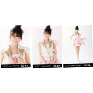 前田亜美 生写真 AKB48 2016.August(2) 月別08月 3枚コンプ fuwaneko