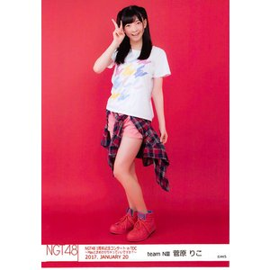 菅原りこ 生写真 NGT48 1周年記念コンサート in TDC C|fuwaneko