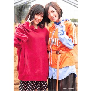 渡辺麻友 松井珠理奈 生写真 AKB48 11月のアンクレット 店舗特典 HMV fuwaneko