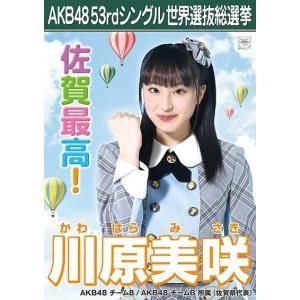 川原美咲 生写真 AKB48 Teacher Teacher 劇場盤特典|fuwaneko