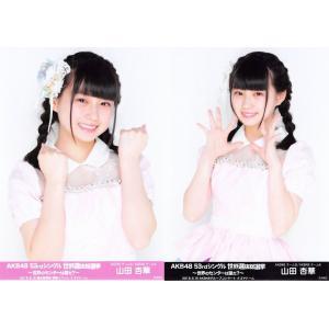 山田杏華 生写真 AKB48 53rdシングル 世界選抜総選挙 ランダム 2種コンプ|fuwaneko