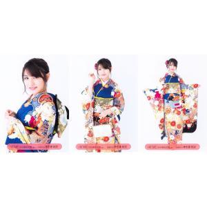 神志那結衣 生写真 HKT48 2019年 福袋 封入特典 3種コンプ fuwaneko