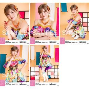 岡田奈々 生写真 AKB48 2019年01月 vol.1 個別 5種コンプ|fuwaneko
