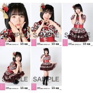 矢作萌夏 生写真 AKB48 2019年02月 vol.2 個別 5種コンプ|fuwaneko