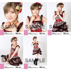 岡田奈々 生写真 AKB48 2019年02月 vol.2 個別 5種コンプ|fuwaneko