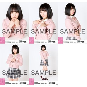 矢作萌夏 生写真 AKB48 2019年03月 vol.2 個別 5種コンプ|fuwaneko