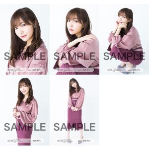 指原莉乃 生写真 HKT48 2019年04月 vol.1 個別 5種コンプ|fuwaneko