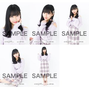 田中美久 生写真 HKT48 2019年04月 vol.1 個別 5種コンプ|fuwaneko