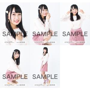 渡部愛加里 生写真 HKT48 2019年04月 vol.1 個別 5種コンプ|fuwaneko