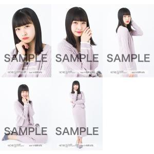 松岡はな 生写真 HKT48 2019年04月 vol.1 個別 5種コンプ fuwaneko