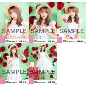 加藤玲奈 生写真 AKB48 2019年04月 vol.1 個別 5種コンプ|fuwaneko