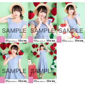 向井地美音 生写真 AKB48 2019年04月 vol.1 個別 5種コンプ|fuwaneko
