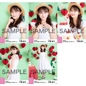 小嶋真子 生写真 AKB48 2019年04月 vol.1 個別 5種コンプ|fuwaneko