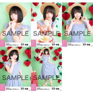 矢作萌夏 生写真 AKB48 2019年04月 vol.1 個別 5種コンプ|fuwaneko