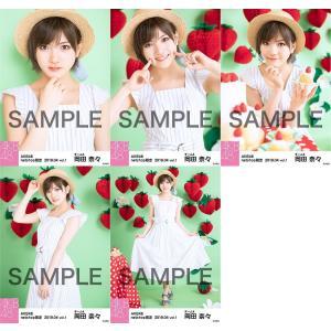 岡田奈々 生写真 AKB48 2019年04月 vol.1 個別 5種コンプ|fuwaneko