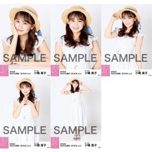 小嶋真子 生写真 AKB48 2019年04月 vol.2 個別 5種コンプ|fuwaneko
