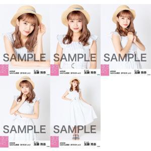 加藤玲奈 生写真 AKB48 2019年04月 vol.2 個別 5種コンプ|fuwaneko